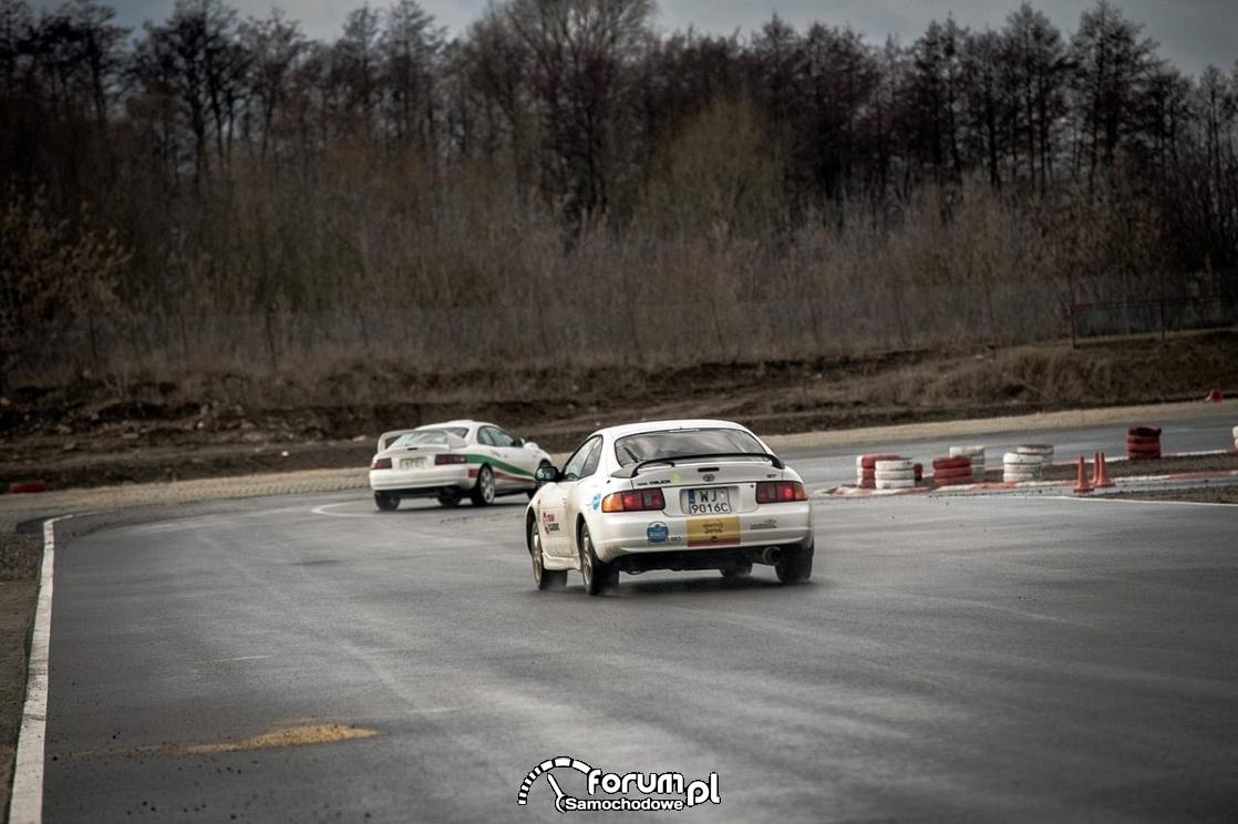 Wyścig na torze, Toyota Celica