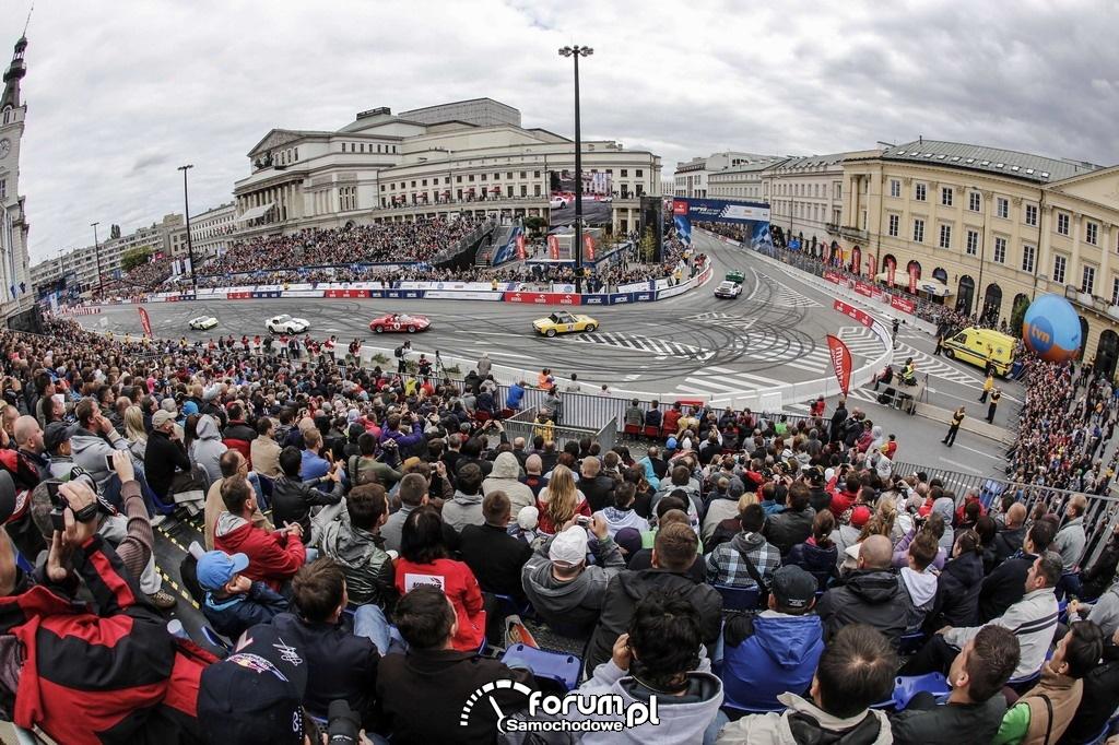 Wyścigi uliczne na placu Teatralnym w Warszawie, VERVA Street Racing 2012