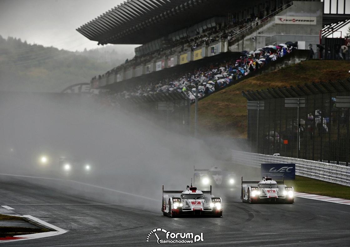 Wyścigi w deszczu, Audi R18 e-tron quattro