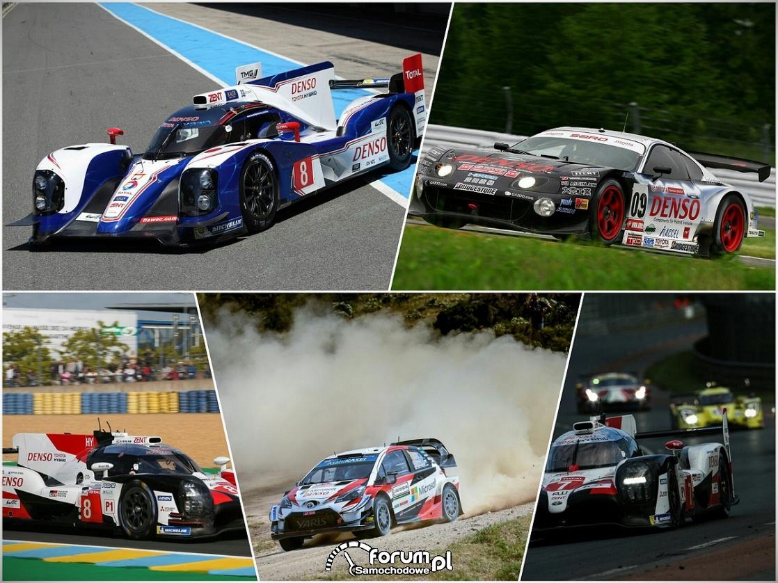Wyścigowe samochody hybrydowe