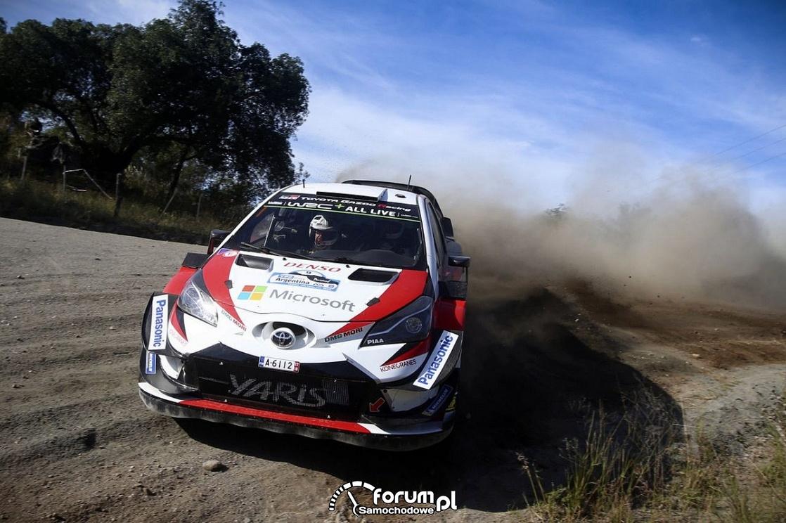 Yaris WRC, Rajd Argentyny