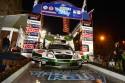 Ypres Rally 2012 w Belgii, podium, SKODA Motorsport