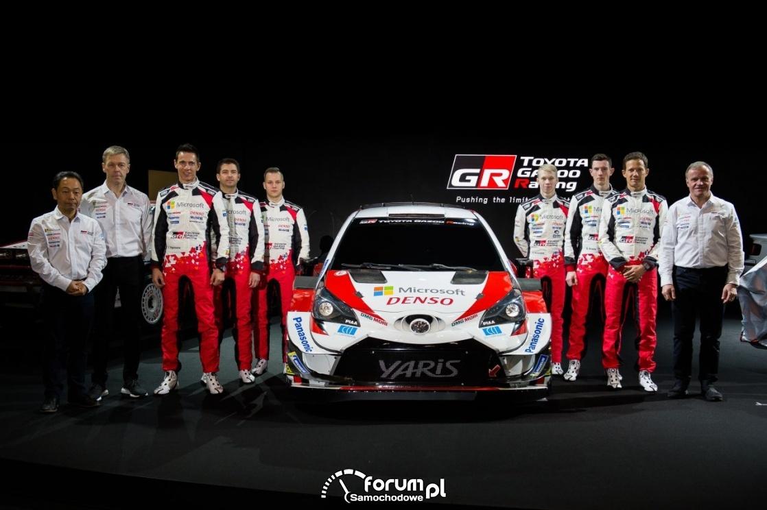 Zespół rajdowy Toyota Gazoo Racing na sezon 2020