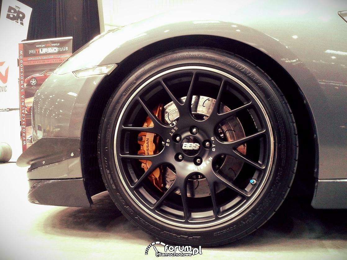 Alufelgi BBS, Nissan GTR