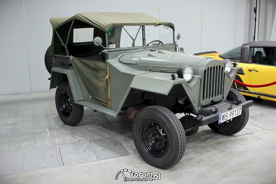 Jeep wojskowy