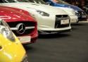 Mercedes, Nissan, Porsche, Honda, przody samochodów