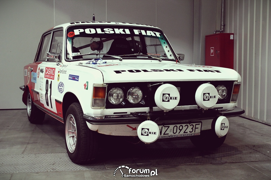 Polski Fiat 125p, edycja rajdowa