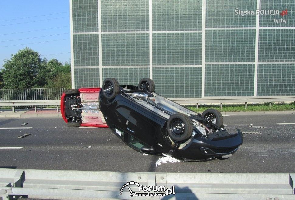 powazny wypadek na dk 1 w tychach 09 09 2016 bc7e