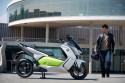 BMW C evolution, skuter elektryczny, bok