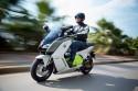 Miejski środek transportu nowy skuter BMW C evolution