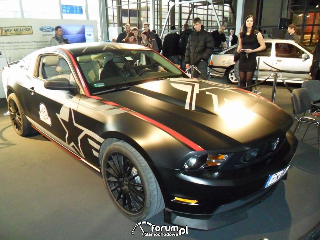 Ford Mustang SR-71 Blackbird