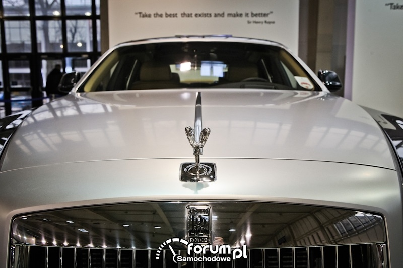 Rolls-Royce Ghost, logo na masce