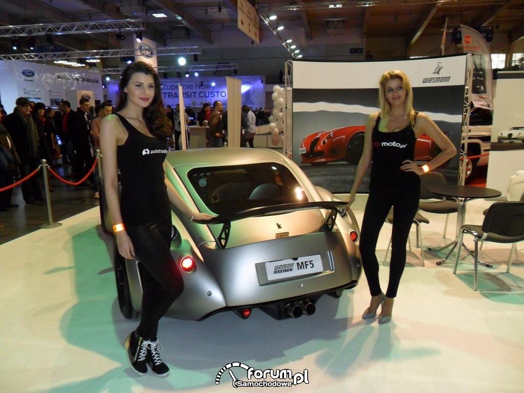 Wiesmann GT MF5, coupe, dziewczyny