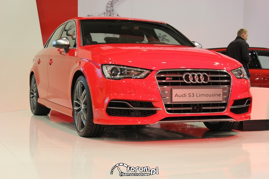 Audi S3 Limousine, przód