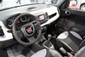 Fiat 500L, wnętrze, deska rozdzielcza