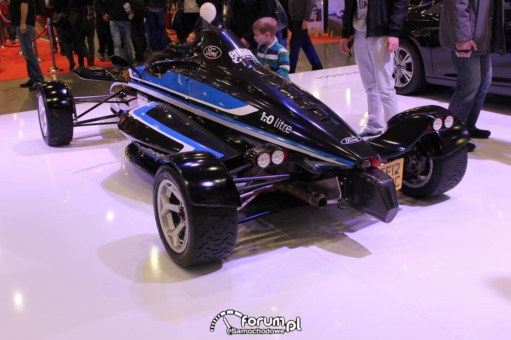 Formuła Ford EcoBoost 1.0 litra, tył