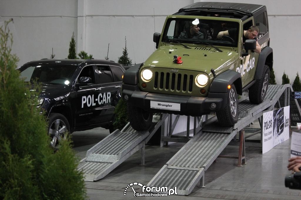 Jeep Wrangler Rubicon, rampa