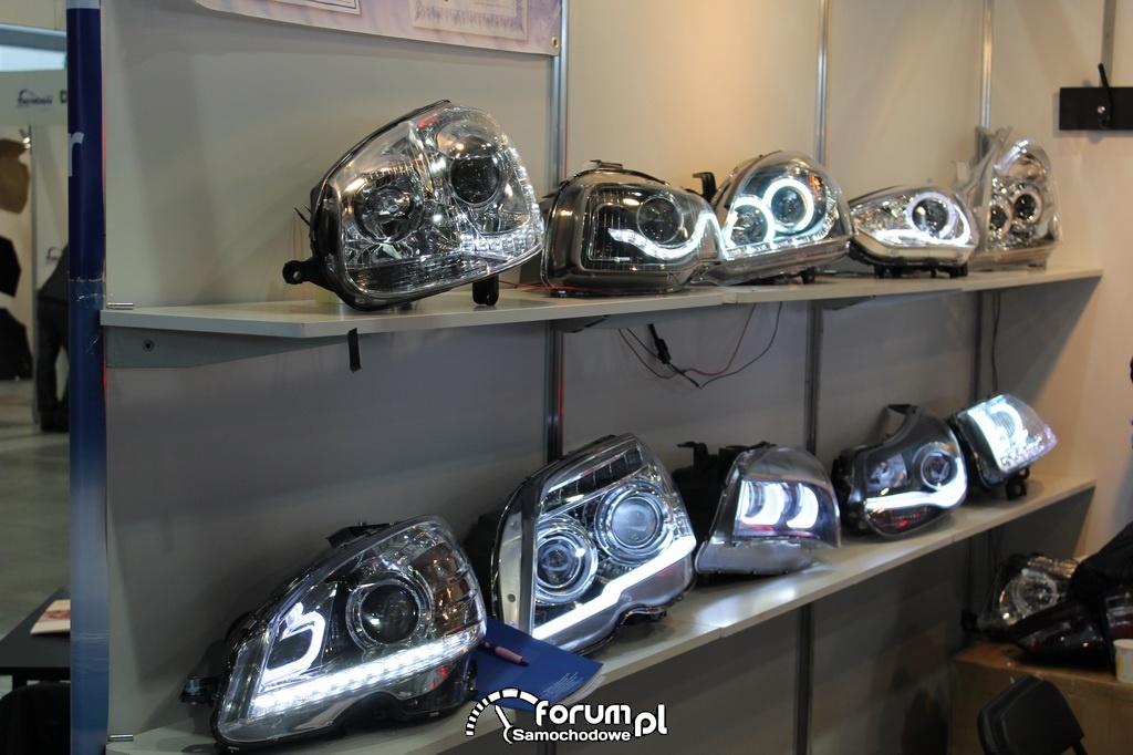 Lampy samochodowe przednie