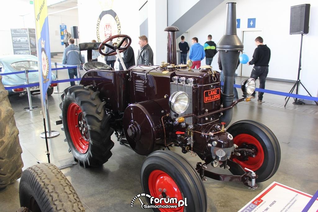 Lanz Bulldog, traktor zabytkowy