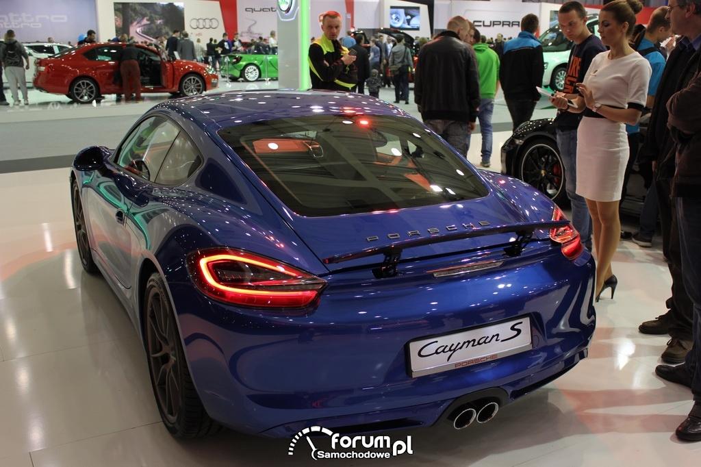 Porsche Cayman S, tył