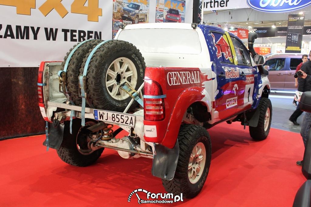 Rajdowa Toyota Hillux