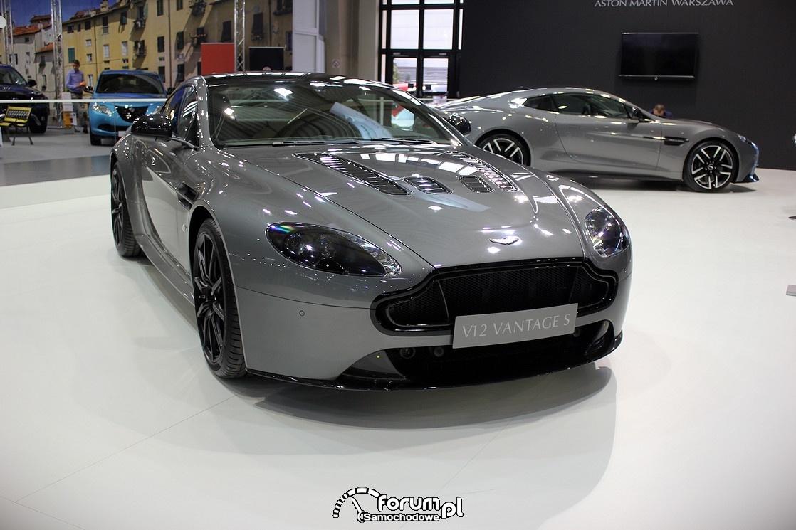 Aston Martin V12 Vantage S, przód
