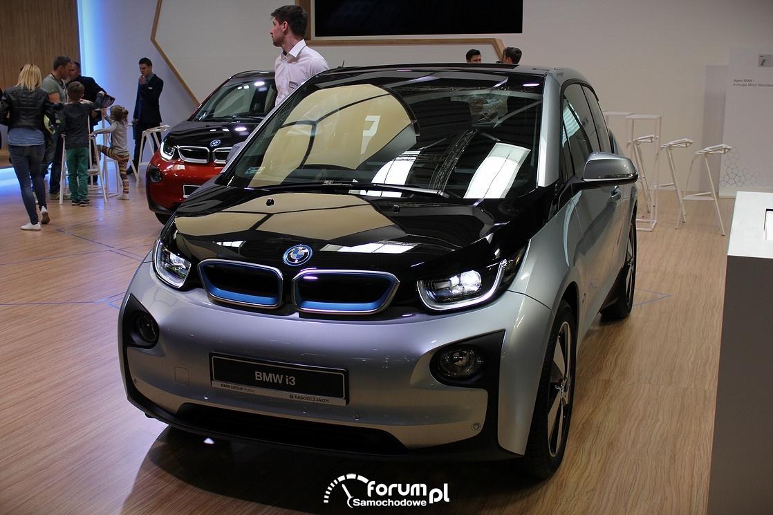 BMW i3, przód