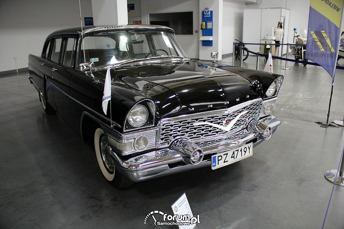 Czajka GAZ-13, 1961 rok, przód
