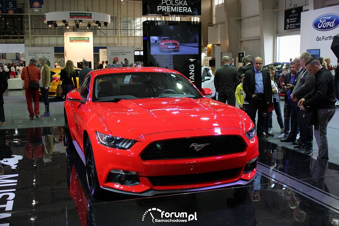 Ford Mustang 5.0 V8 GT 421KM, przód