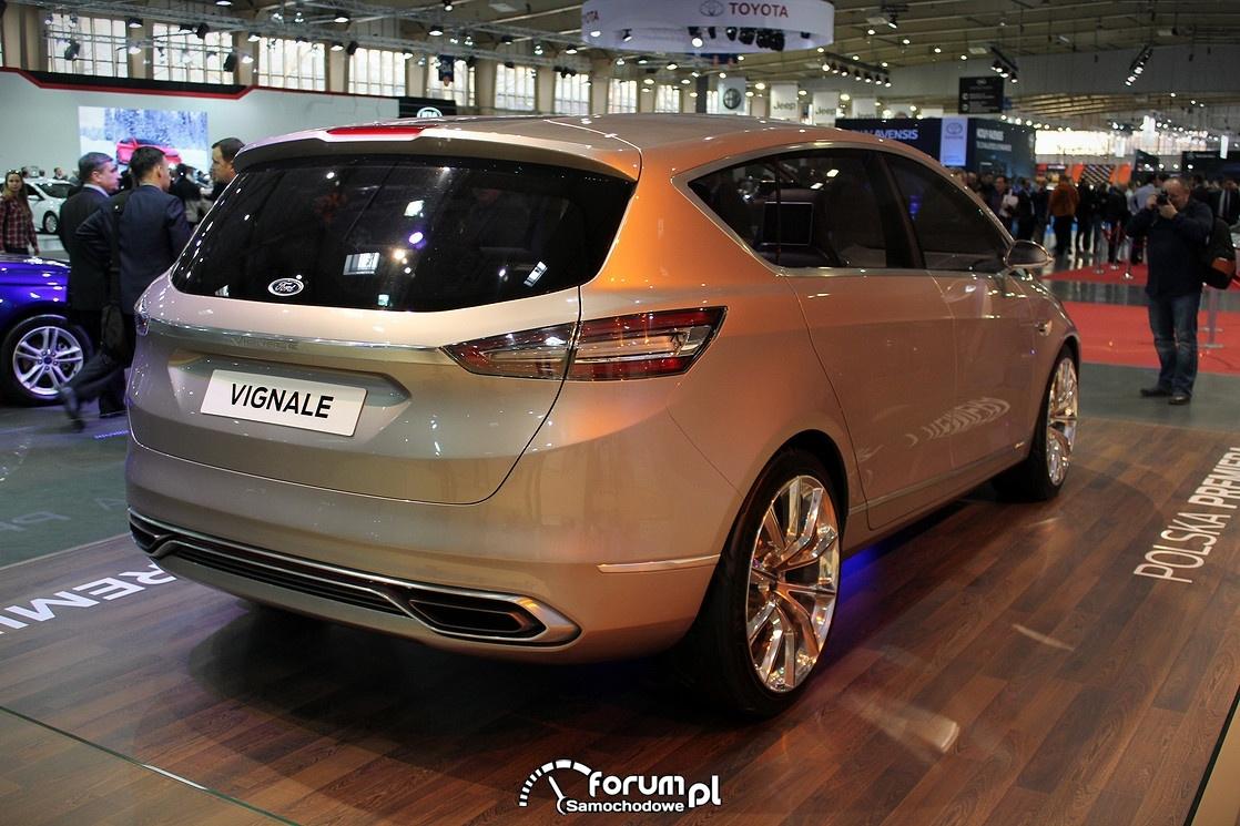 Ford Vignale S-MAX Concept, prawa strona
