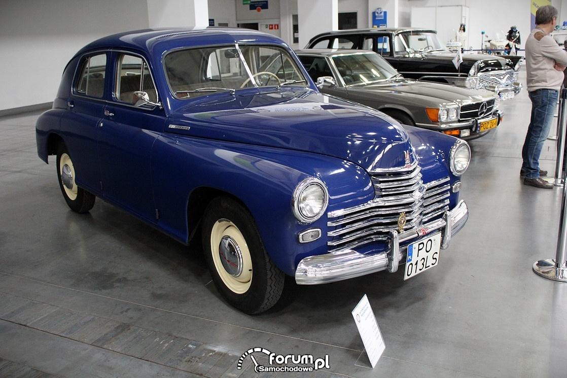 FSO Warszawa M20, 1953 rok