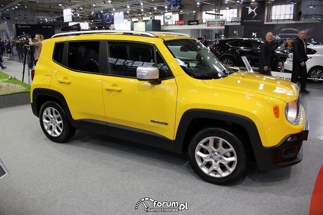 Jeep Renegade, bok