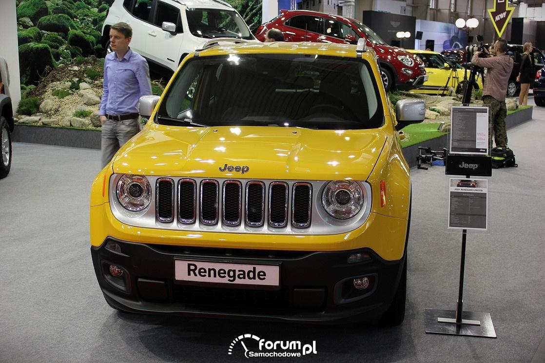 Jeep Renegade, przód