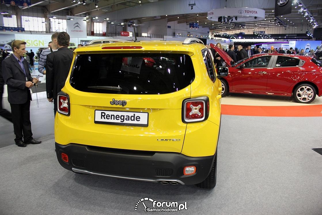 Jeep Renegade, tył
