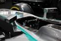 Mercedes F1W05 Hybrid, kierownica multifunkcyjna