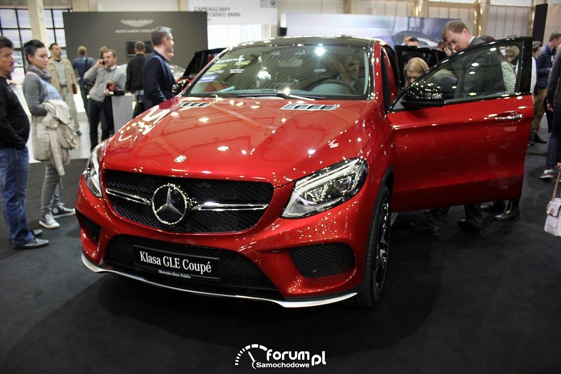 Mercedes GLE Coupe, przód