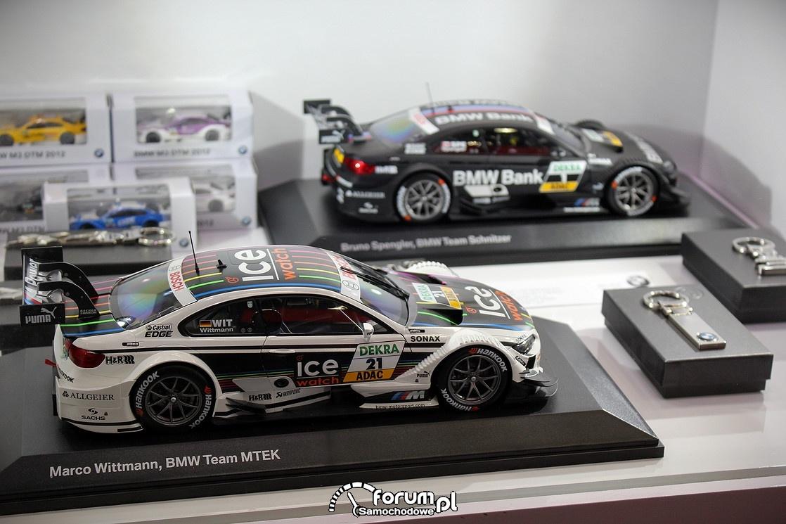Modele BMW MotorSport w małej skali