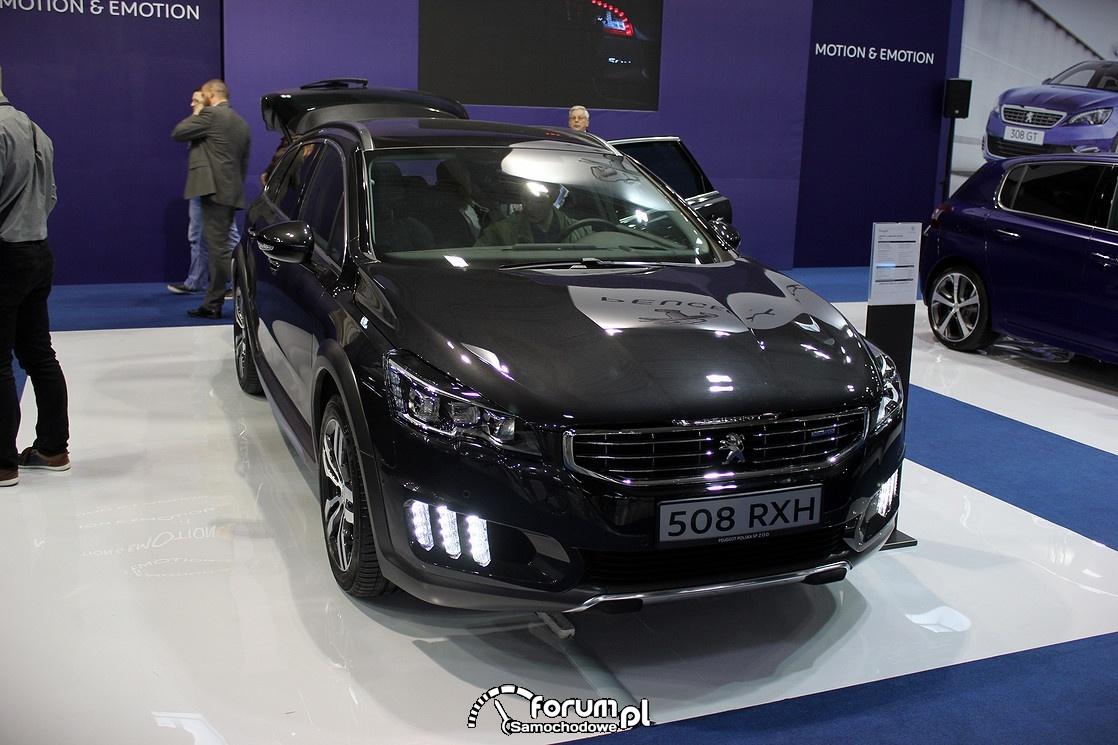 Peugeot 508 RXH, przód