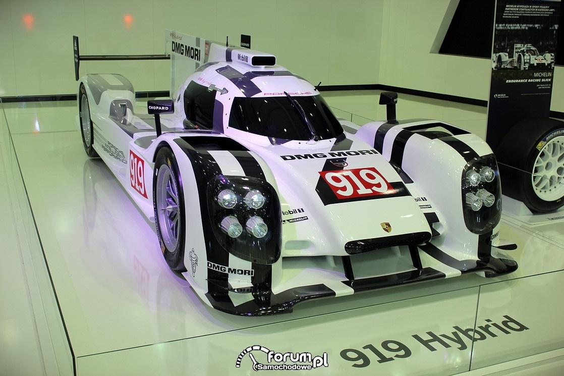Porsche 919 Hybrid, przód