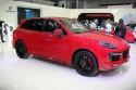 Porsche Cayenne GTS, bok