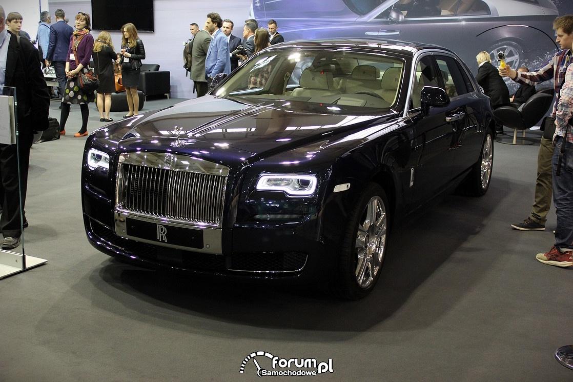 Rolls Royce Ghost II, przód
