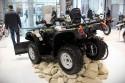 Romet ATV 500, Quad z pługiem, tył
