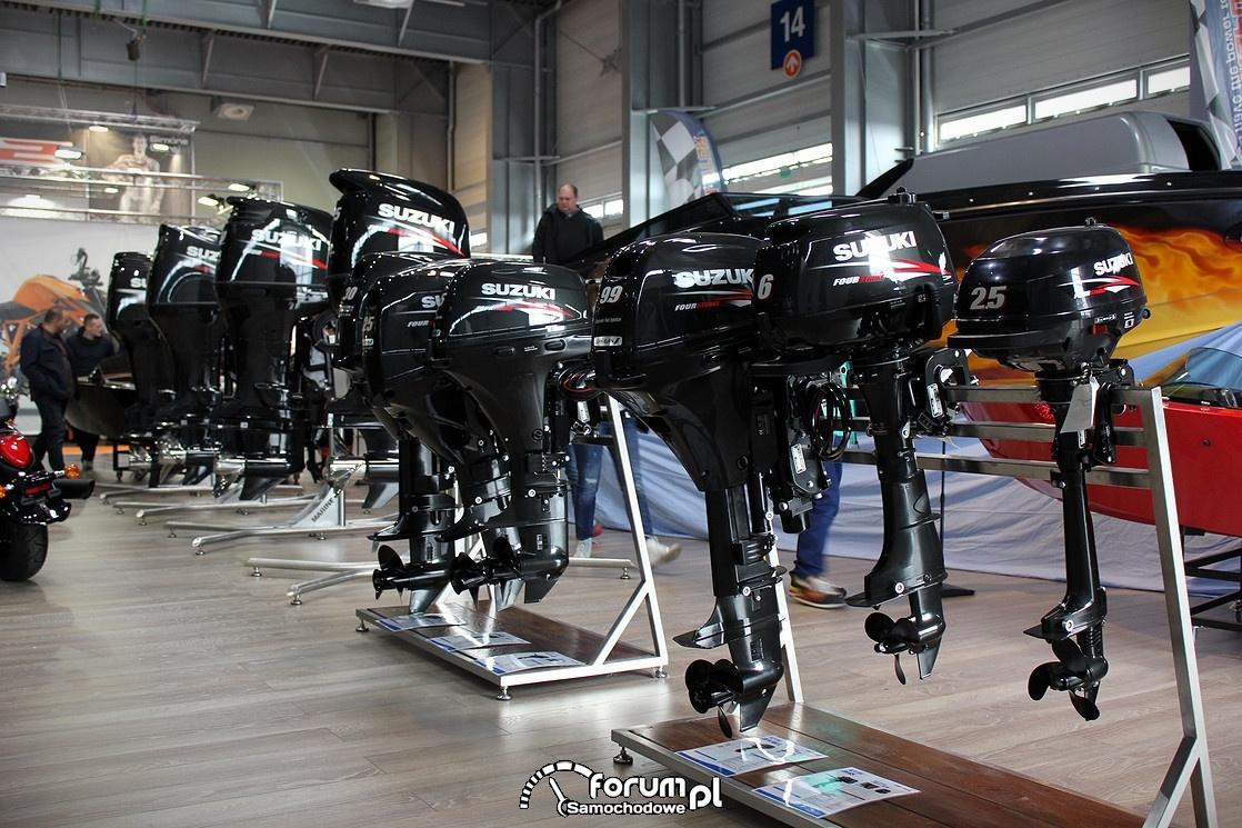 Silniki do łódek i motorówek od 2 do ponad 300KM