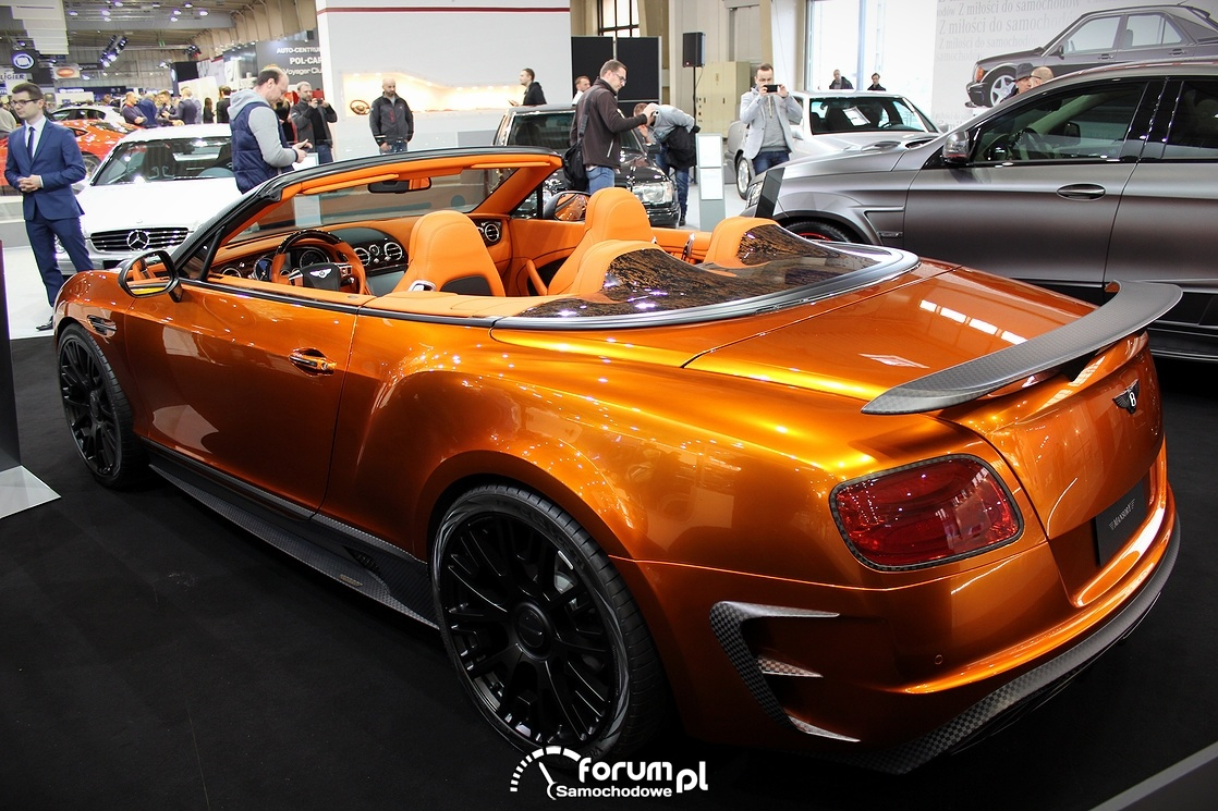 Bentley Continental Convertible, Mansory