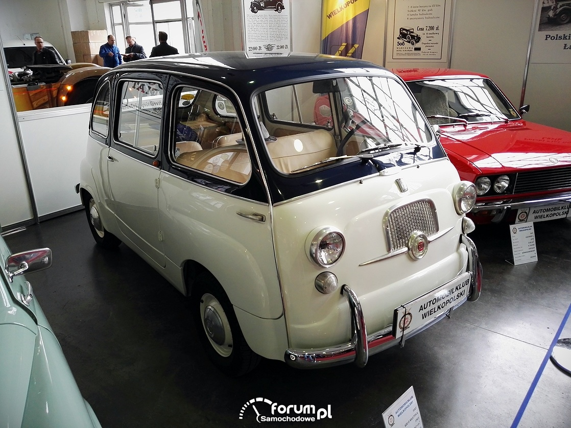 fiat 600 d multipla 1963 rok zdj cie motor show 2016 pozna. Black Bedroom Furniture Sets. Home Design Ideas