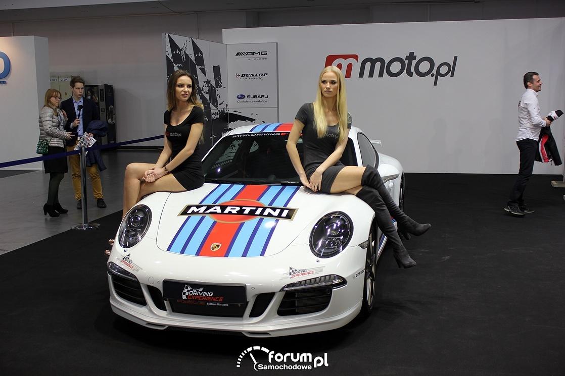 Hostessy i Porsche Martini