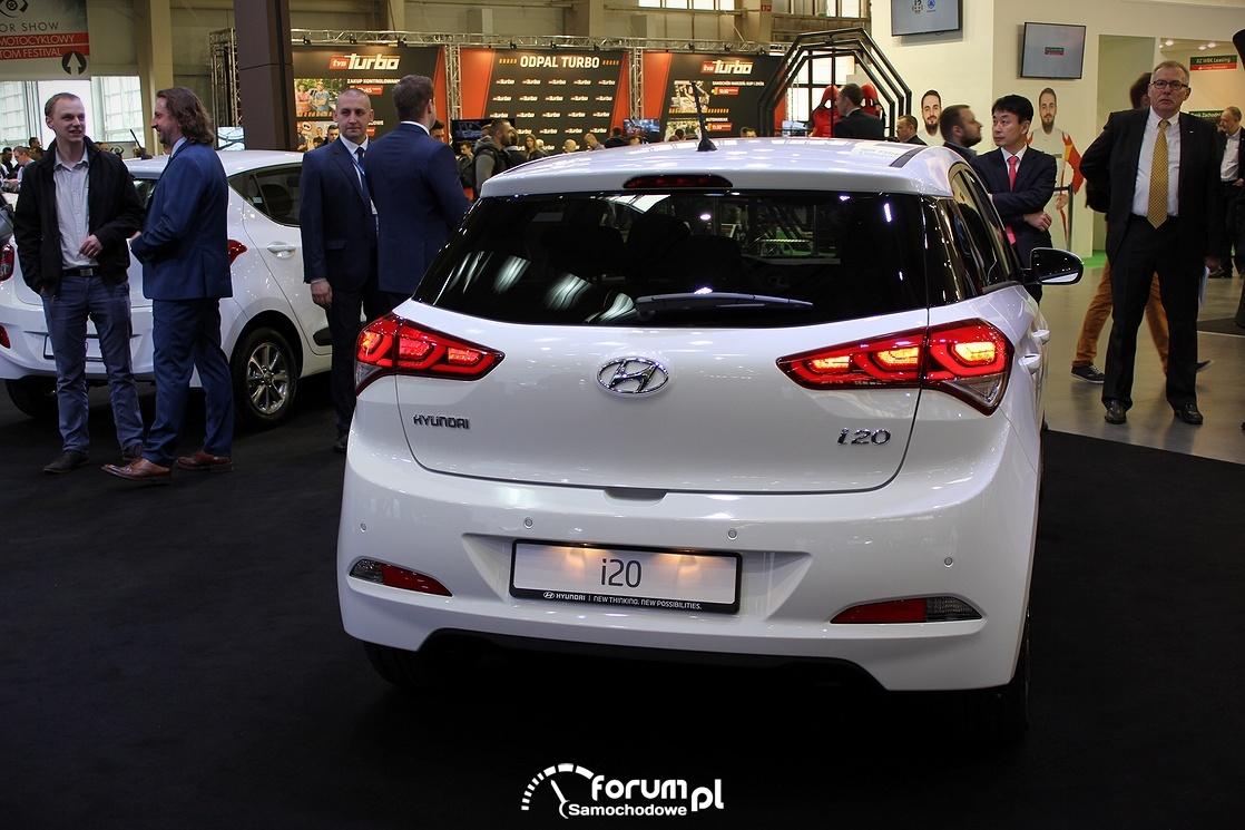 Hyundai i20, tył