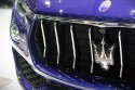 Logo Maserati na przednim grilu