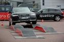 Nierówności, Arena quattro, offroad parkur, Audi A6 Allroad, 2