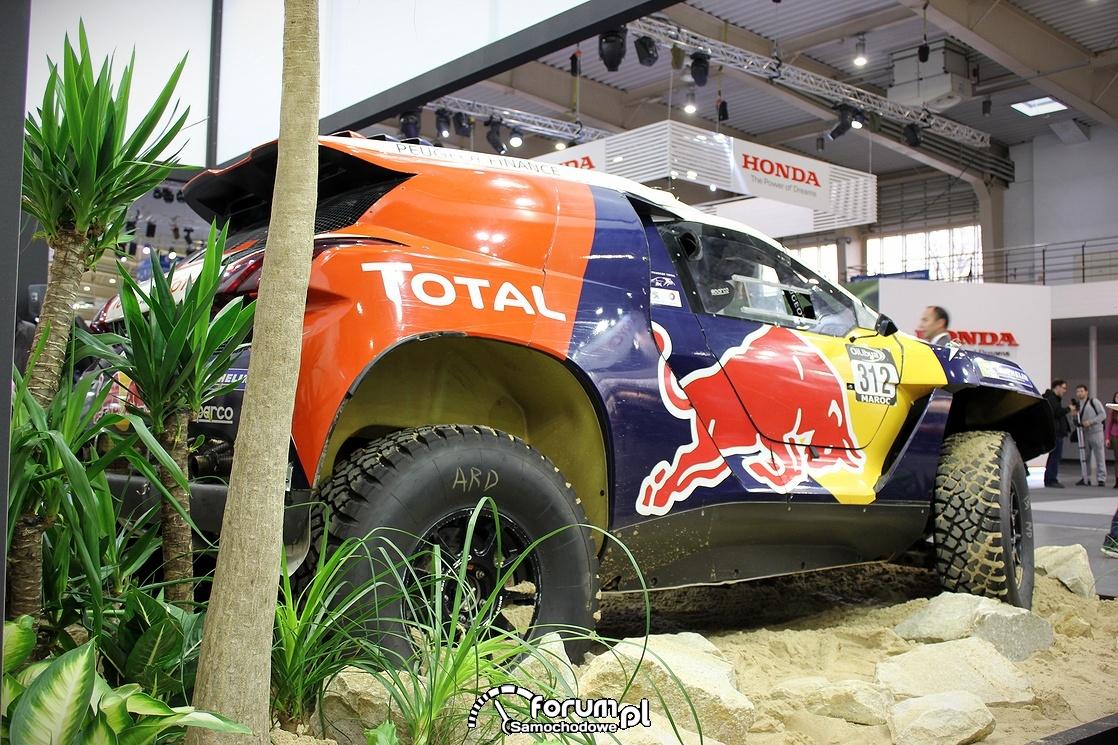 Peugeot 2008 DKR, bok